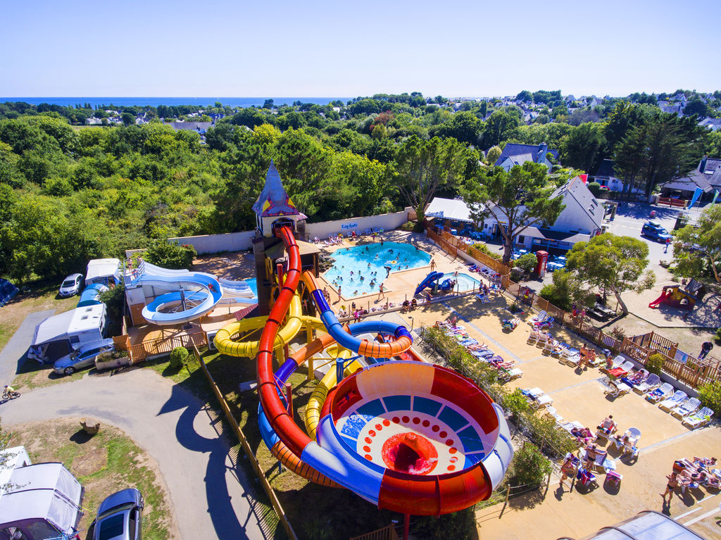 An Trest, Camping Bretagne - Piscines
