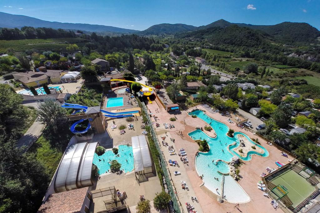 Campings et r sidences franceloc camping location mobil - Camping vaison la romaine avec piscine ...