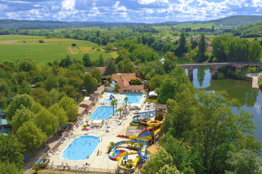 Camping lot campings et r sidences vacances capfun by capfun for Camping dans le lot avec piscine