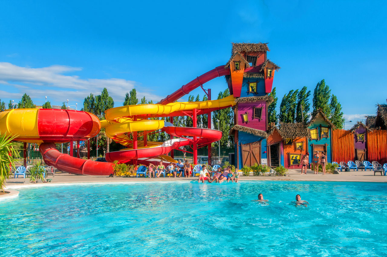 Féerix, Camping Languedoc Roussillon - Piscines - Capfun