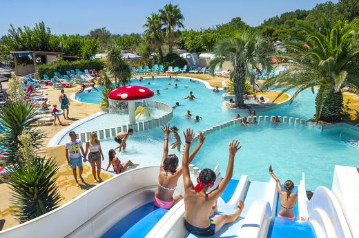 Camping France Floride, Languedoc Roussillon
