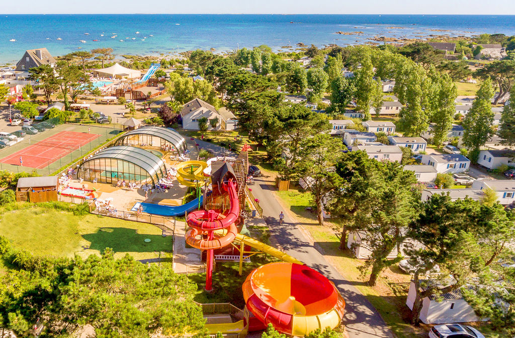 Le Grand Large, Camping Bretagne - Vue g�n�rale
