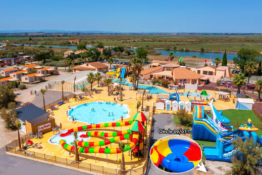 Camping Hamacs, Languedoc Roussillon