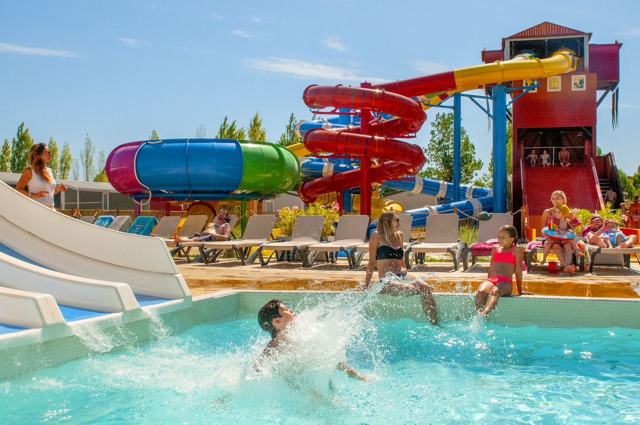 L'Hermitage, Camping Languedoc Roussillon - Piscines - Capfun