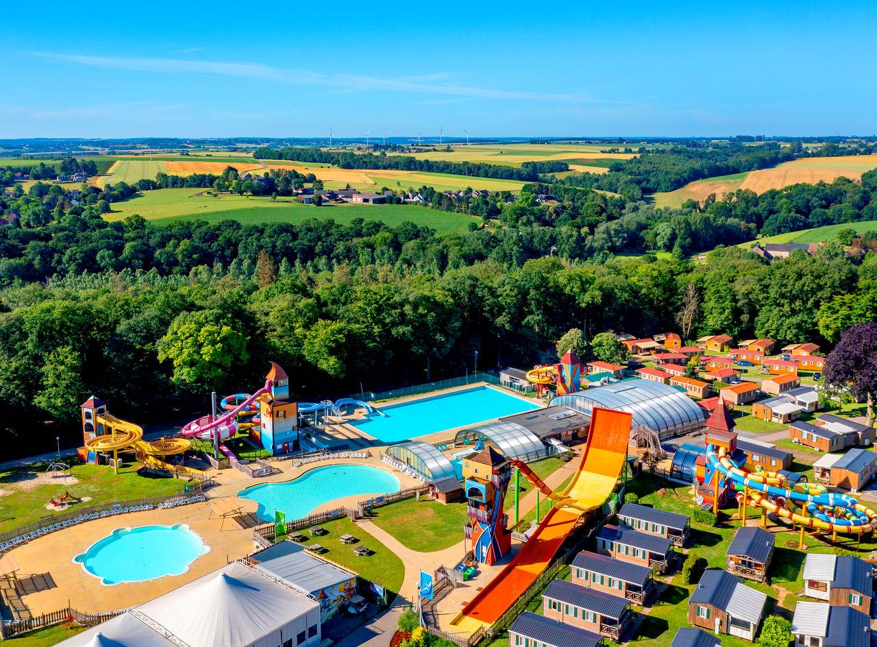 Campingvakantie L'Hirondelle met groot waterpark, in de