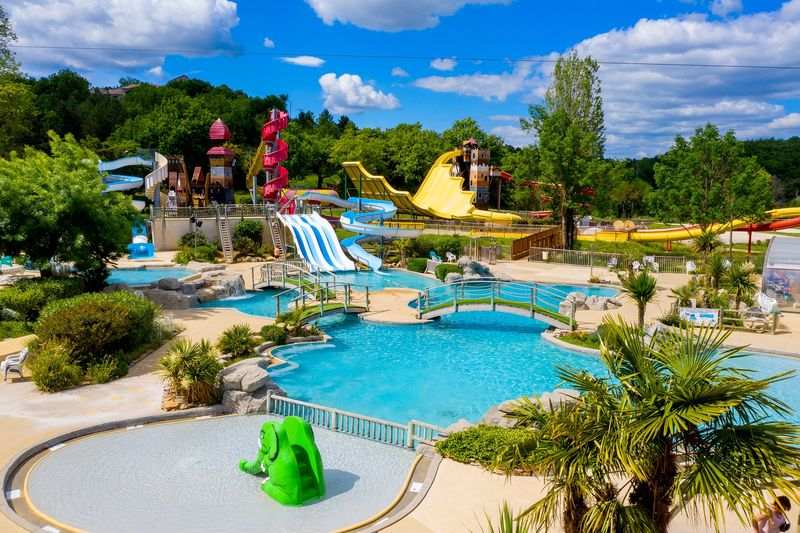 Camping Holidays On Campsite Imbours, For Family Holidays In The Ardèche,  Rhône Alpes