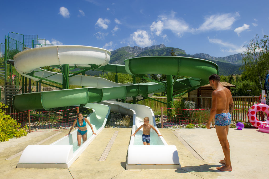 L'Oursi�re, Camping Rhone Alpes - Piscines