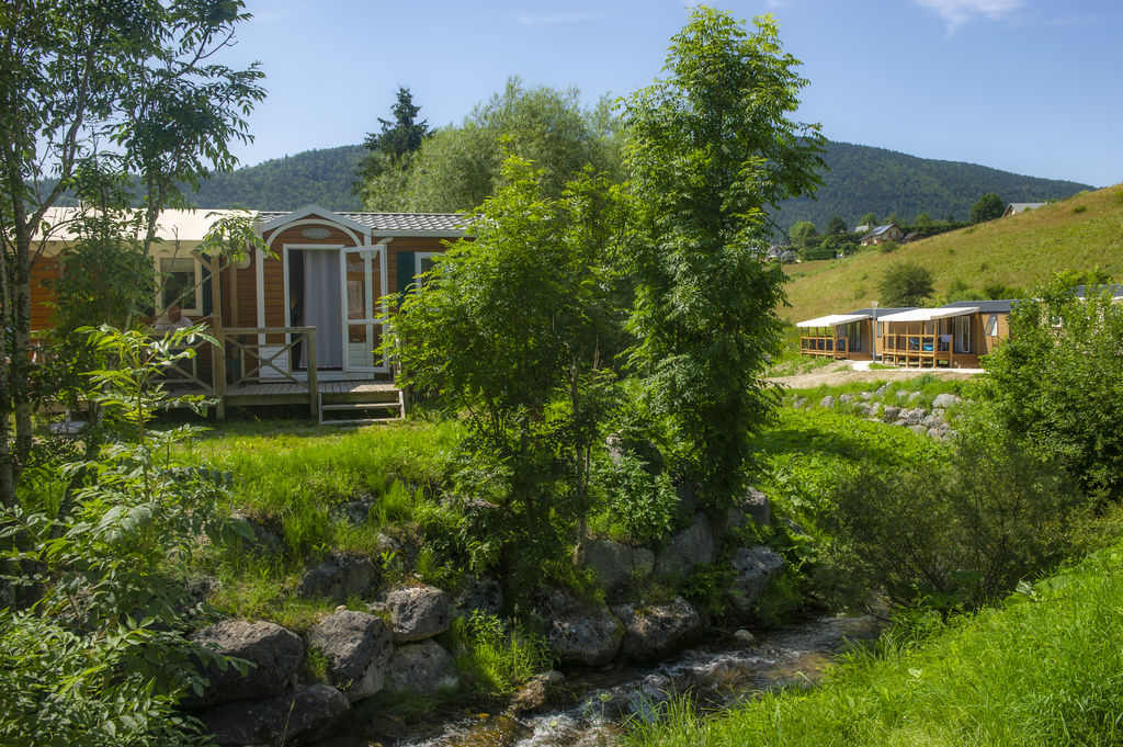 L'Oursi�re, Camping Rhone Alpes - D�partements