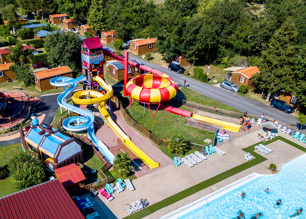 La Regni�re, Camping Rh�ne Alpes - Piscines