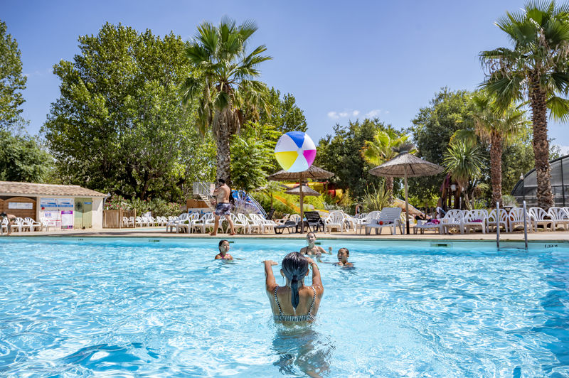 Camping Holidays Soubeyranne, Family Holidays In REMOULINS, Languedoc  Roussillon