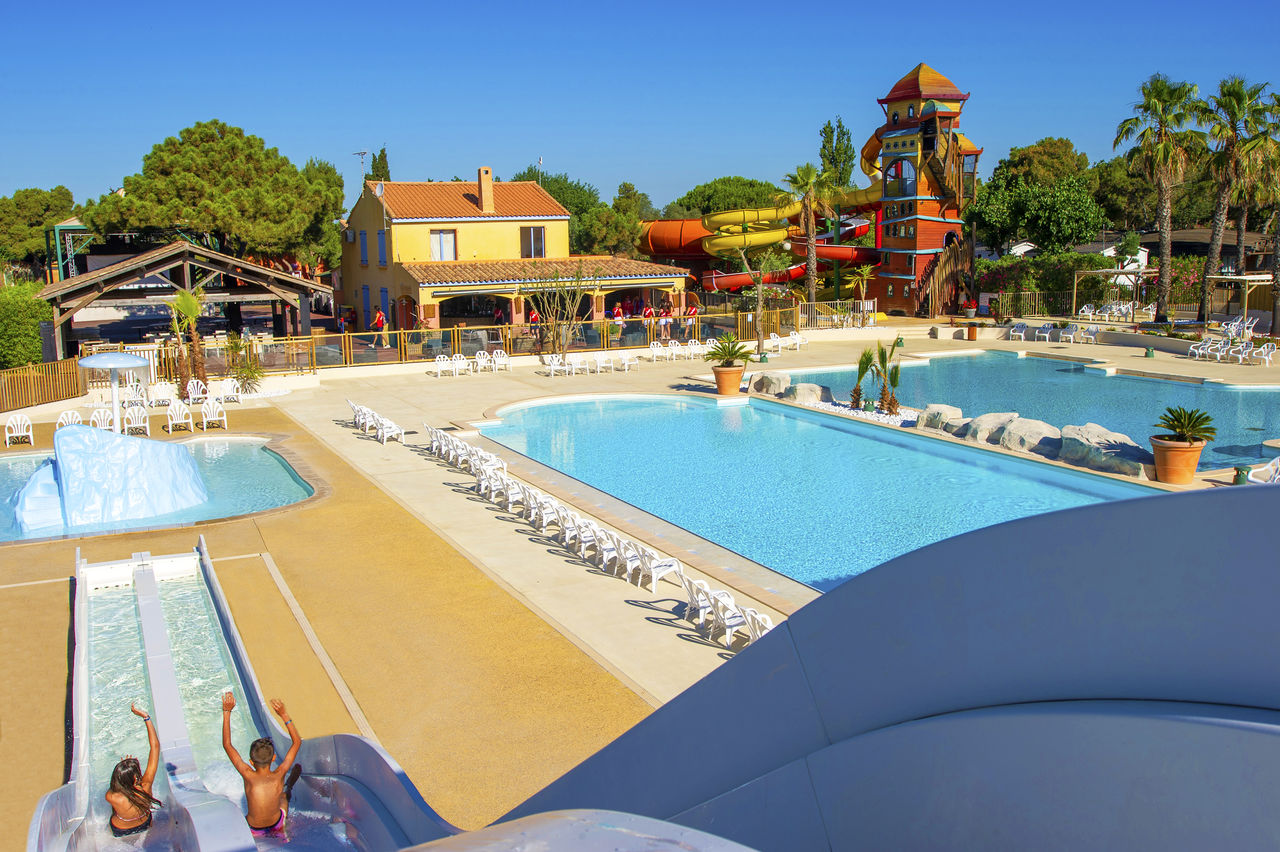 Les Vignes d'Or, Camping Languedoc Roussillon - Piscines - Capfun