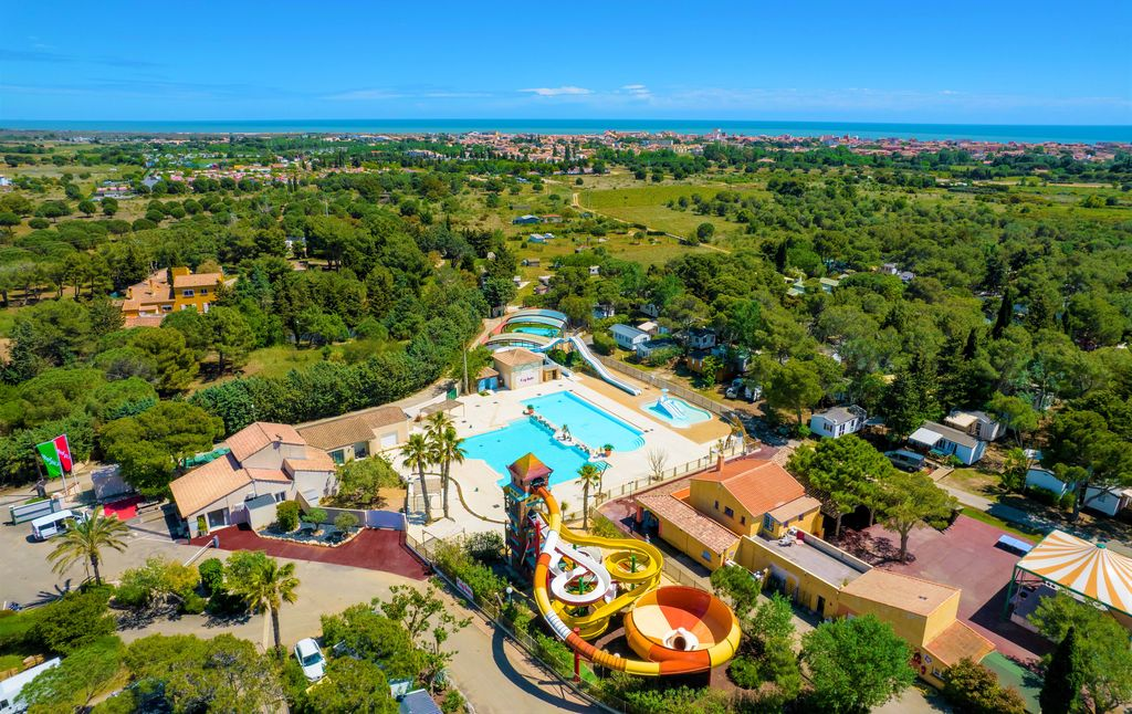 Les Vignes d'Or, Camping Languedoc Roussillon - Vue g�n�rale - Capfun